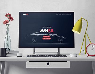 MH Bil - Logo, Web-design & Branding
