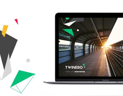 Twinero identity and web