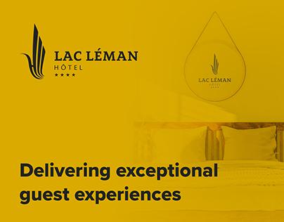 Lac Leman Hotel | Branding & Webdesign