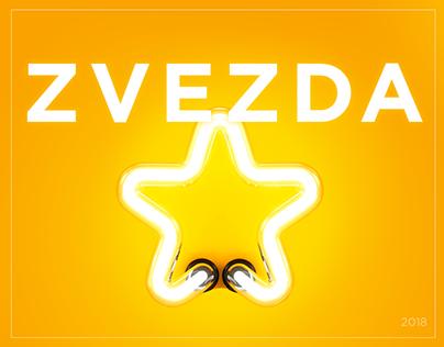 Landing and online store for Brand agency «Zvezda»