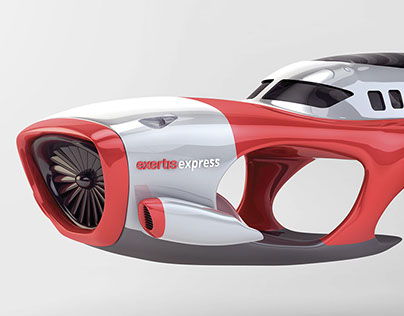 ExertisExpress Vehicle Renders