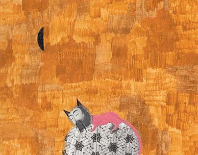 The pink line (Children's Illustration)