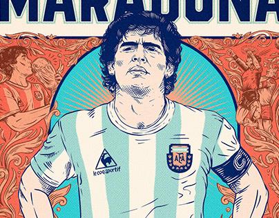Personalidades // Arte 01: Diego Armando Maradona