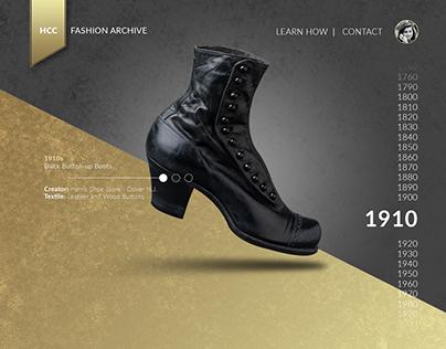 HCC Fashion Archive