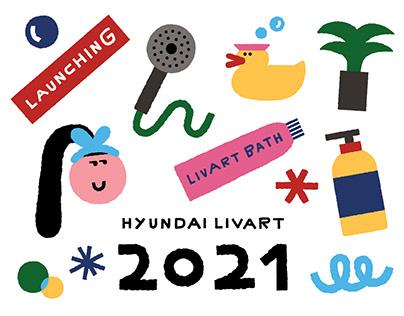 2021 Hyundai Livart Calendar