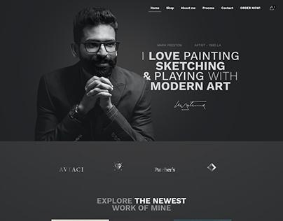 Artist - WordPress