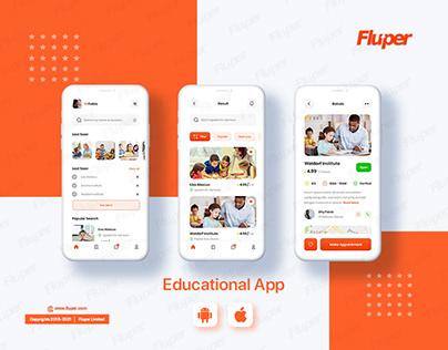 E-Learning Theme Mockup