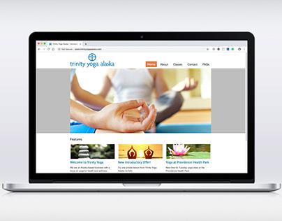 Trinity Yoga Alaska website