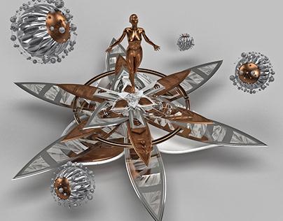 Reborn Silver Mandala