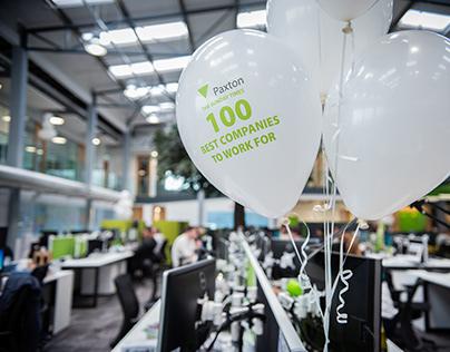 ST Top100 Company in the UK - work hard, play hard