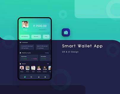 Smart Wallet App UX & UI Design