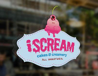 iScream Cakes & Creamery {Branding/Identity}