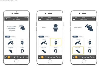 Translator App For Patients