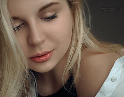 Retouch portrait