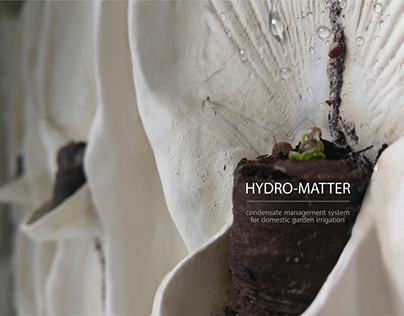 Hydromatter. Ceramic surface for water production from