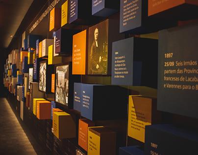 Memorial Marista - Exposição e Materiais Gráficos