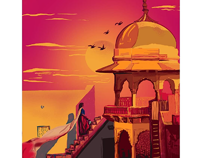 An evening in Jaipur..