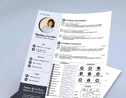 Free Resume Template for Adobe Indesign