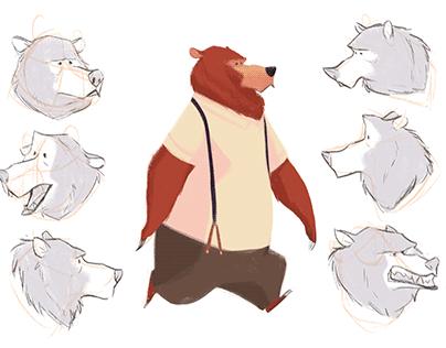 Lonely Jazz Bear