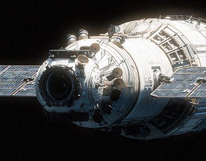Zvezda Module - CGI