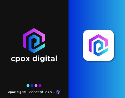 Digital Marketing logo, cpox Digital
