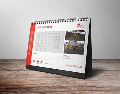 Emirates Aluminium Calendars