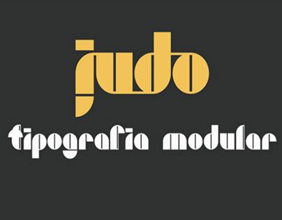 JUDO - FREE MODULAR FONT