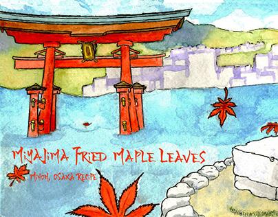 (They Draw They Cook) Miyajima Fried Maple Leaves