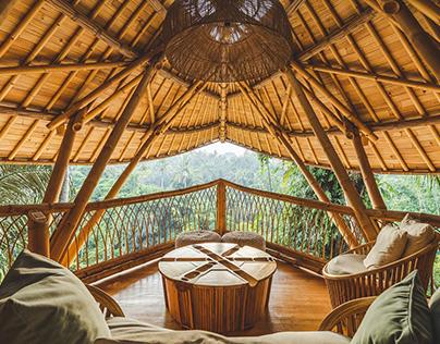 DS Bali Villa Photography - Aura House Bamboo Villa