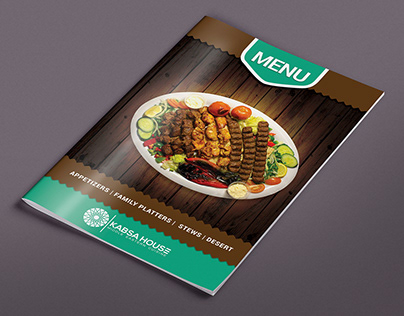 Professional Restaurant Menus And Brochure Design