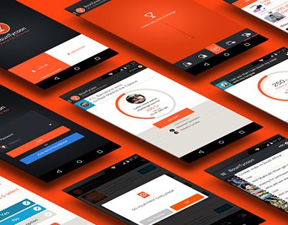 BounTycoon - UX, UI and App Design