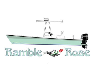 Graphic Boat/ Illustration