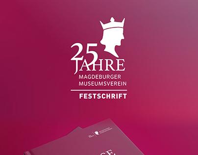 "Festschrift ""25 Jahre Magdeburger Museumsverein"""