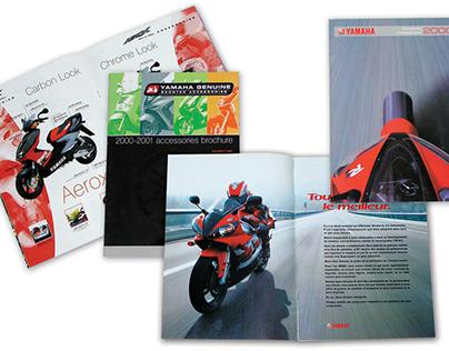 Yamaha Motorcycle and Scooter Range Brochures