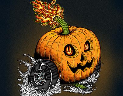 Hot Rod Pumpkin
