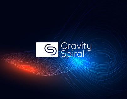 Gravity Spiral Brand Identity