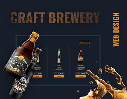 Craft Brewery Web Design
