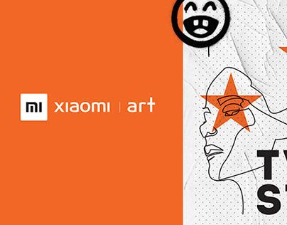 Xiaomi art / Contemporary art exebition /