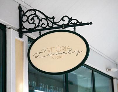 Branding Vitoria Lovely Store