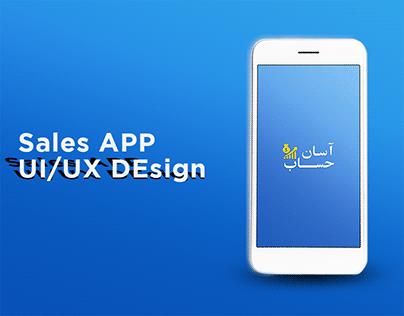 sales app design