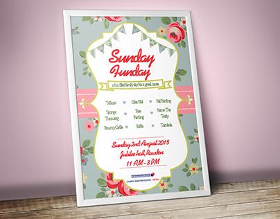 Sunday Funday Flyer