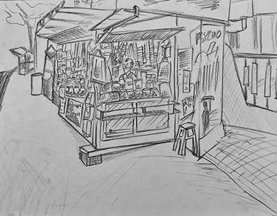 A Street Vendor Near Me - Sketches and Roadmap.