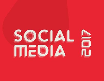 Social Media 2017 || +100 Design