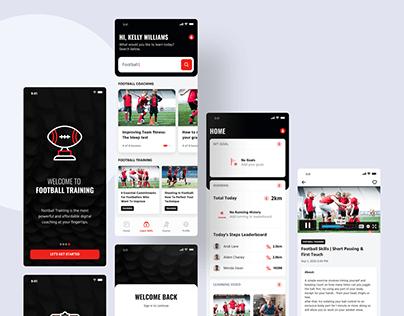 Football Coaching App UI Kit