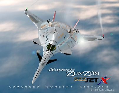 """The SZZ """"Superb ZunZún"""", private JET"""
