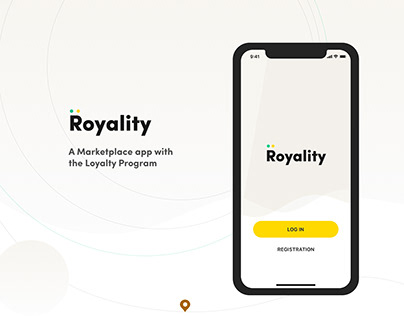 Royality is a Marketplace App with the Loyalty Program