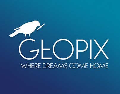 GEOPIX Real State Company Logo