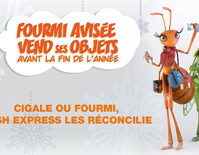 Annonces presse & Bannières web