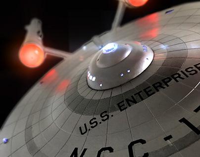 U.S.S ENTERPRISE NCC - 1701: Scale Model