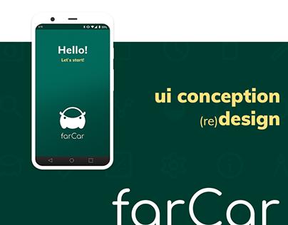 UI Application design